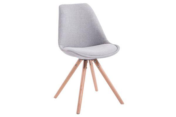 Besøksstolen Toulouse stoff rund