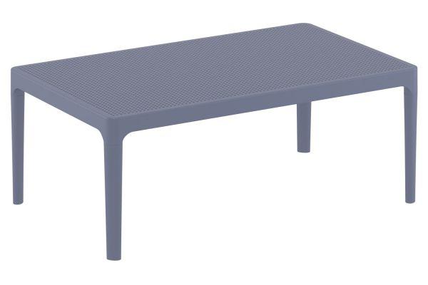 Lounge Tisch Sky dunkelgrau
